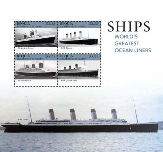 [Ships - World's Greatest Ocean Liners, Typ ]