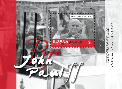 [The 30th Anniversary of Pope John Poul II's visit to Poland, Typ ]