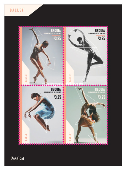 [Ballet - International Stamp Exhibition ROSSICA 2014 - Moscow, Russia, Typ ]