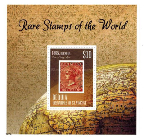 [Rare Stamps of the World, Typ ]
