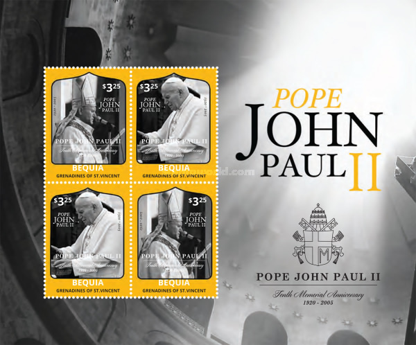 [The 10th Anniversary of the Death of Pope John Poul II, 1920-2005, Typ ]