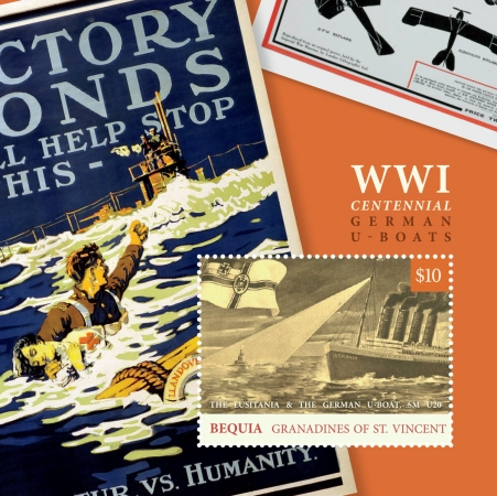 [The 100th Anniversary of the End of World War I - German U-Boats, Typ ]