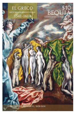 [Paintings - The 400th Anniversary of the Death of El Greco, 1541-1614, Typ BLO]