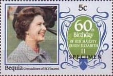 [The 60th Anniversary of the Birth of HRM Queen Elizabeth II, Typ FP]