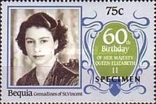 [The 60th Anniversary of the Birth of HRM Queen Elizabeth II, Typ FQ]