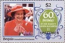 [The 60th Anniversary of the Birth of HRM Queen Elizabeth II, Typ FR]