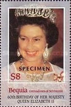 [The 60th Anniversary of the Birth of HRM Queen Elizabeth II, Typ FS]