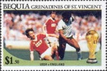 [Football World Cup - Mexico 1986, Typ GB]