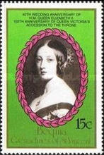 [Royal Wedding Anniversary; The 150th Anniversary of the Queen Victoria's Accession to the Throne, Typ HX]
