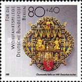 [Charity Stamps - Art of Gold and Silversmiths, Typ AAB]