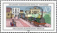 [The 150th Anniversary of the Railroad Between Berlin-Potsdam, Typ AAC]