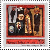 [The 100th Anniversary of the Birth of Hannah Höch - Painter, Typ ABK]