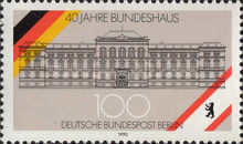 [The 40th Anniversary of the Bundeshaus in Berlin, Typ ABU]
