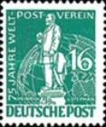 [The 75th Anniversary of the Universal Postal Union, type C1]