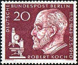 [In Memorial of Robert Koch, Typ DE]