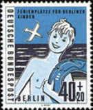 [Charity Stamps for Holiday Camps for Children from Berlin, Typ DJ]