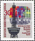 [The 25th German Radio- and Television Exhibition in Berlin, Typ HK]