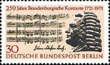 [The 250th Anniversary of J.S.Bach's Brandenburg Concerts, Typ KB]