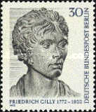 [The 200th Anniversary of the Birth of Friedrich Gilly - Architect, Typ LB]