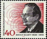 [The 125th Anniversary of the Birth of Adolf Slaby - Radiotechnician, Typ MM]