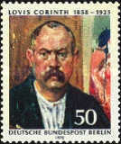 [The 50th Anniversary of the Death of Lovis Corinth, Typ OC]