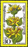 [Charity Stamps - Flowers, Typ OD]