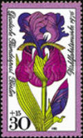 [Charity Stamps - Flowers, Typ OR]