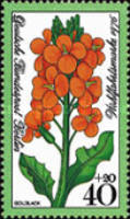 [Charity Stamps - Flowers, Typ OS]