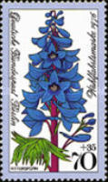 [Charity Stamps - Flowers, Typ OU]
