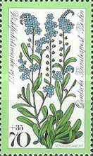 [Charity Stamps - Flowers, Typ QA]