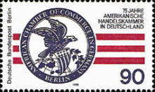 [The 75th Anniversary of the Establishing of the American Chamber of Commerce, Typ QD]
