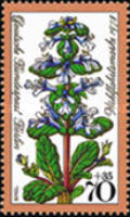 [Charity Stamps - Flowers, Typ QR]