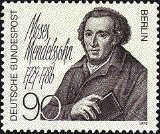 [The 250th Anniversary of the Birth of Moses Mendelsohn - Philosopher, Typ RP]
