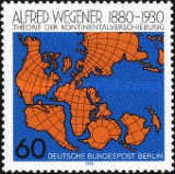 [The 100th Anniversary of the Birth of Alfred Wegener - Geophysicist, Typ SE]