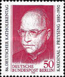 [The 100th Anniversary of the Birth of Cardinal von Preysing, Typ SM]