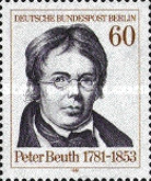 [The 200th Anniversary of the Birth of Peter Beuth, Typ TQ]