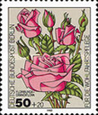 [Charity Stamps - Roses, Typ UQ]
