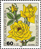 [Charity Stamps - Roses, Typ UR]