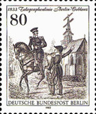 [The 150th Anniversary of the Telegraph Line Between Berlin-Coblenz, Typ VD]