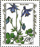 [Charity Stamps - Endangered Alpine Flowers, Typ VQ]