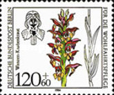 [Charity Stamps - Orchids, Typ WL]