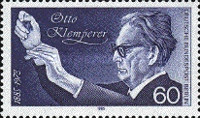 [The 100th Anniversary of the Birth of Otto Kelmperer - Conductor, Typ WX]