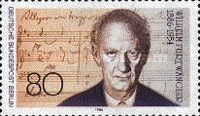 [The 100th Anniversary of the Birth of Wilhelm Furtwängler - Conductor, Typ XI]