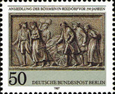 [The 250th Anniversary of the Bohemian Settlement in Rixdorf, Typ YQ]