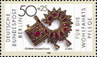 [Charity Stamps - Metal Artwork, Typ YV]