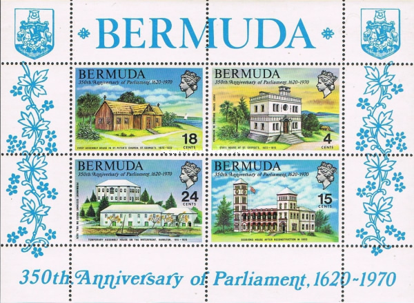 [The 350th Anniversary of Bermuda Parliament, Typ ]