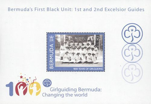 [The 100th Anniversary of the Girl guides, Typ ]
