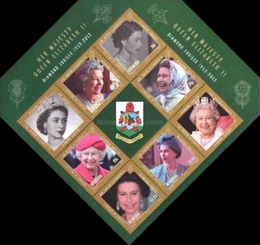 [The 60th Anniversary of of the Accesion of Queen Elizabeth II, Typ ]