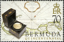 [The 500th Anniversary of Discovery of Bermuda by Juan de Bermudez (Spanish Navigator), Typ ACE]