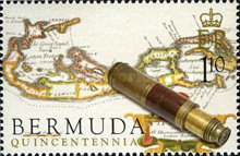 [The 500th Anniversary of Discovery of Bermuda by Juan de Bermudez (Spanish Navigator), Typ ACF]